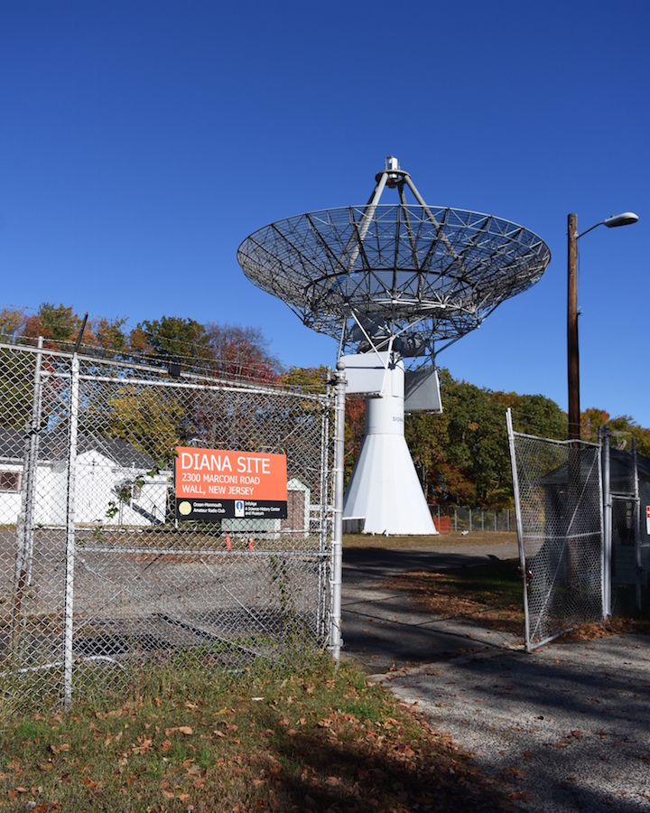 TLM-18 Dish at the Project Diana site